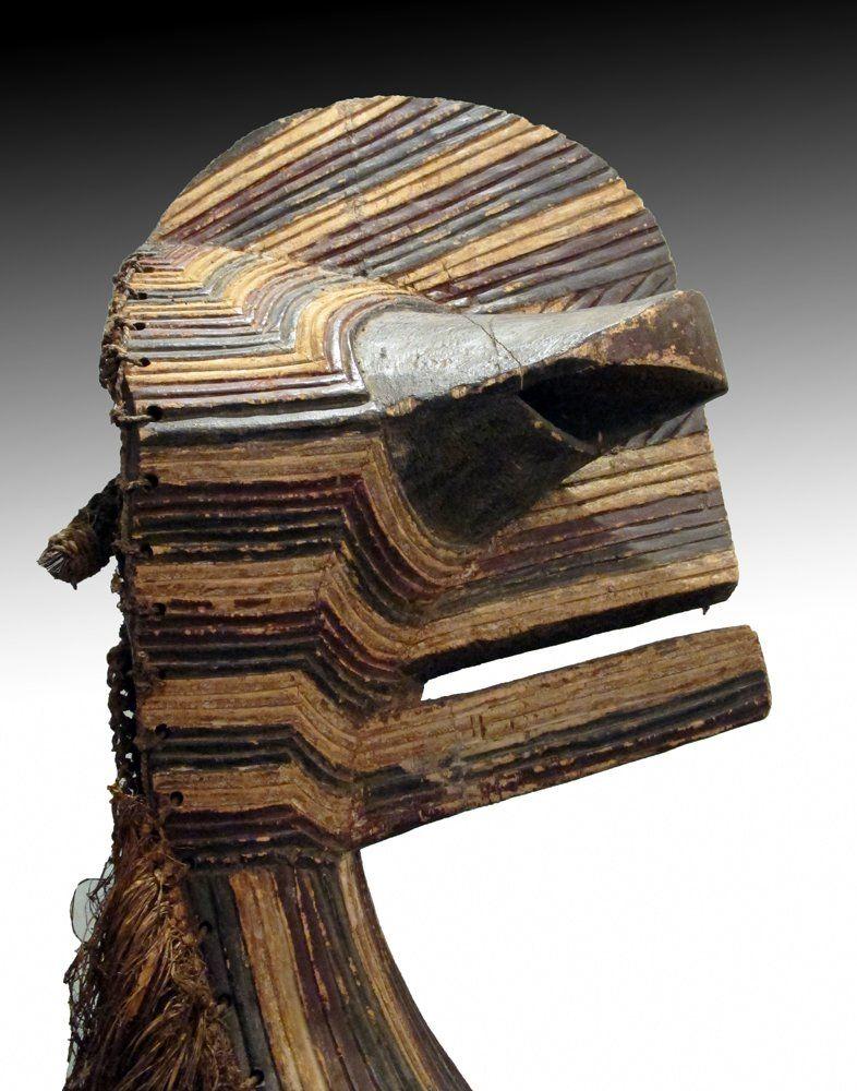 Songye Kalebwe Kifwebe (mask) from south East D.R.Congo