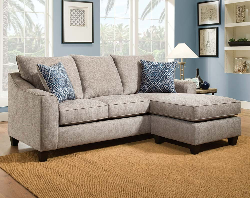Mobly Sofa Chaise Natural Sofa With Blue Pillows Uptown Mineral 2 Pc Sectional
