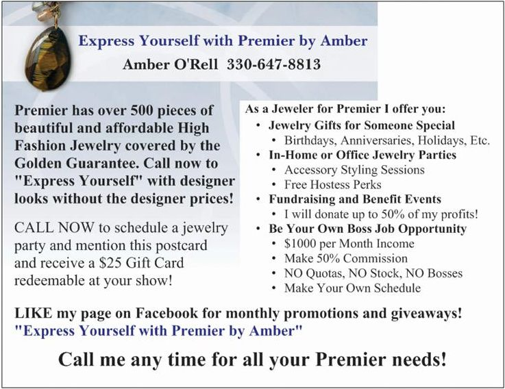 Premier Designs Calljimbo: Services Offered As Your Jewelry Lady For Premier Designs