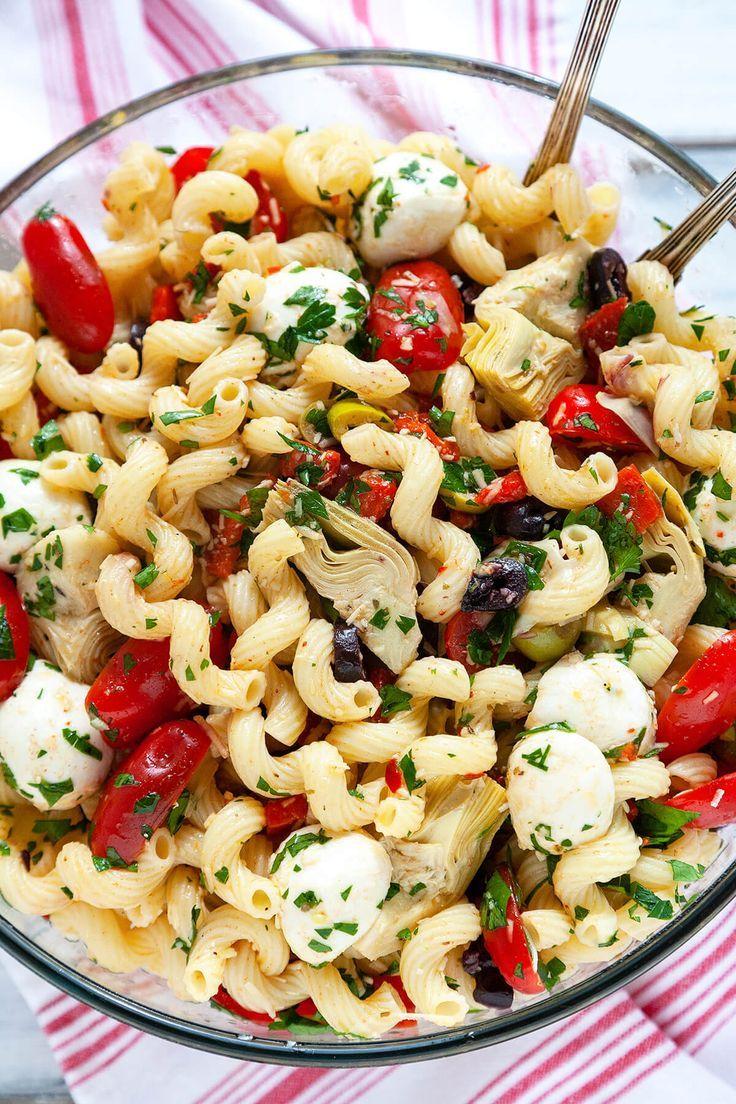 Easy Italian Antipasto Salad #healthyfood