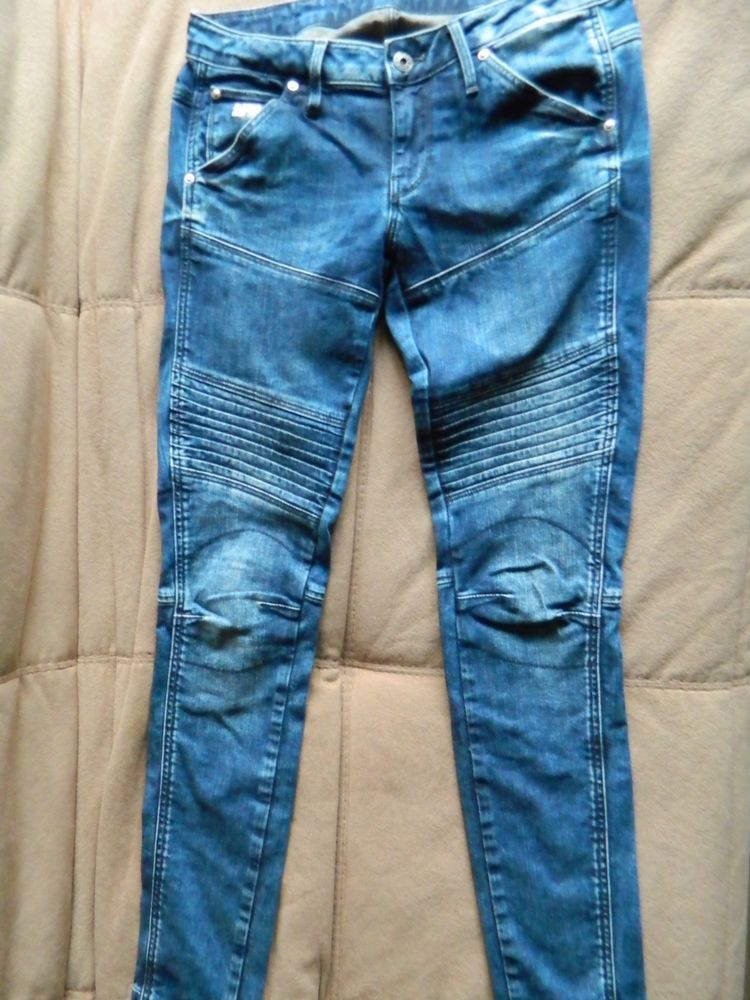 G Star Raw Elwood 5620 Custom Slim Tapered Jeans Women S W 25 L 32 Fashion Clothing Shoes Accessories Womensclothing Star Jeans Women Jeans Tapered Jeans