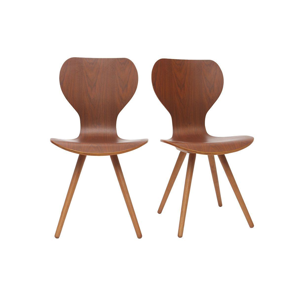 Chaises Lot De 2 Nordeco Taille Taille Unique Chaise Design