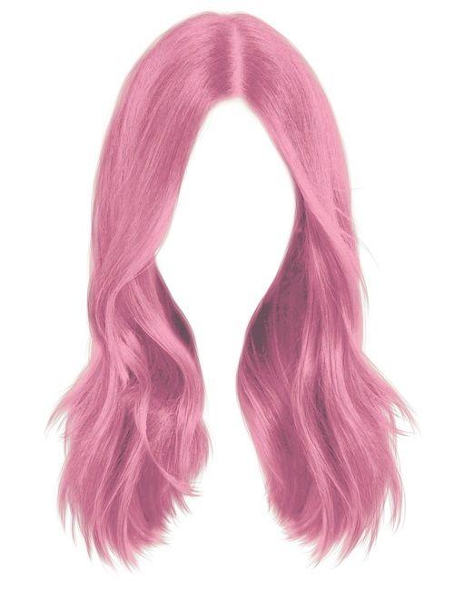 Pink Hair Hair Illustration Anime Hair How To Draw Hair