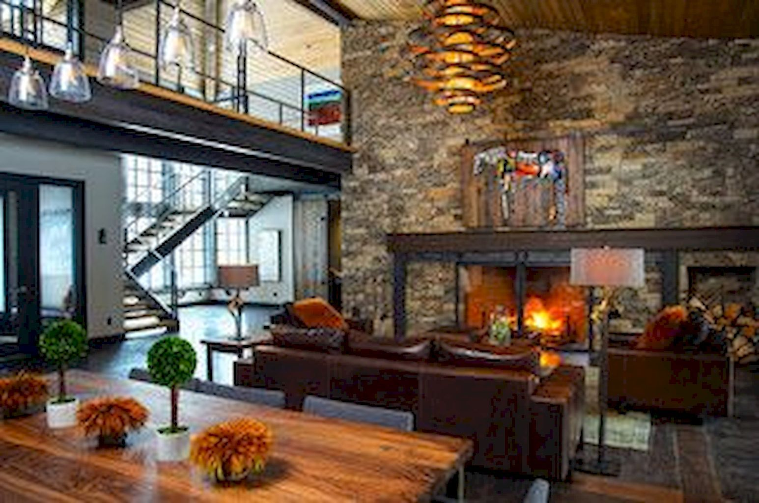 80 Contemporary Living Room Decoration Ideas Home To Z Modern Rustic Living Room Industrial Living Room Design Rustic Living Room Contemporary rustic living room
