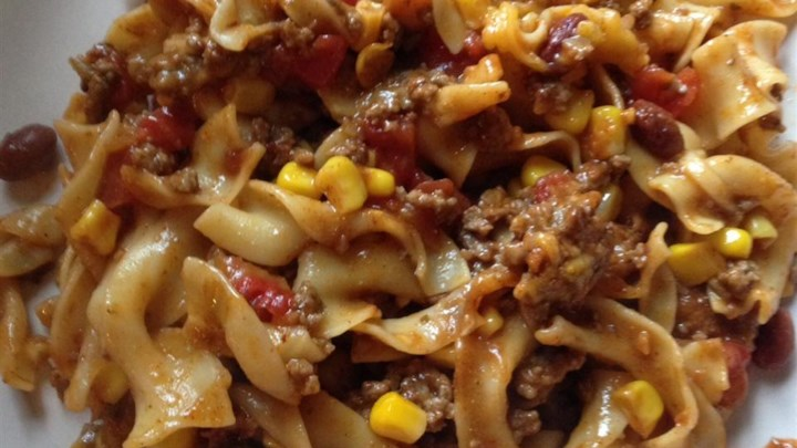Hamburger Casserole Recipe #casserolesrecipeshamburger Hamburger Casserole Recipe - Allrecipes.com #hamburgercassarole