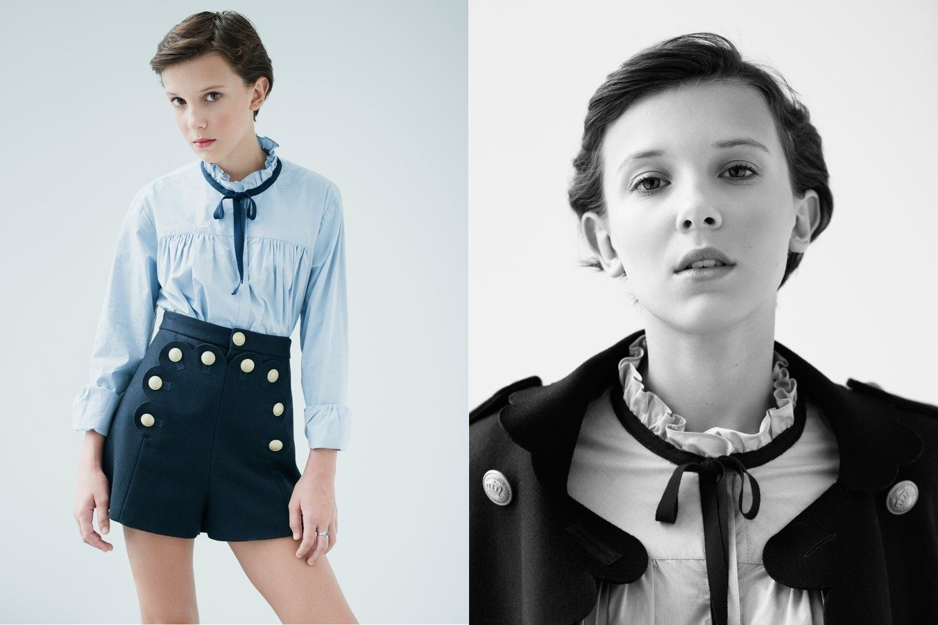Millie Bobby Brown Signs With A Professional Modeling Agency Millie Bobby Brown Bobby Brown Millie
