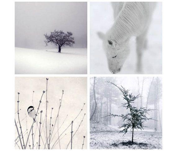 Winter Print Set Winter Decor Winter by RockyTopPrintShop on Etsy, $40.00