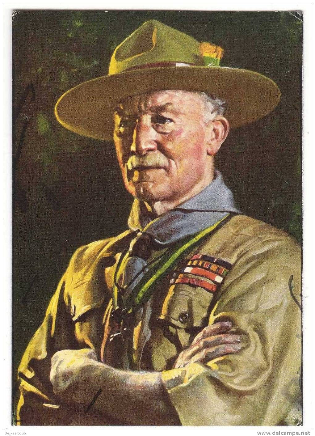 Lord Baden Powell Of Gilwell Painting By David Jagger 1929