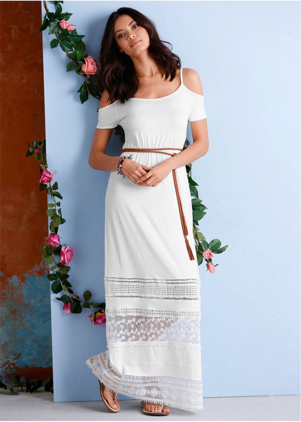 Maxi šaty s čipkou Pekné maxi šaty s • 34.99 € • bonprix  7b714badc12