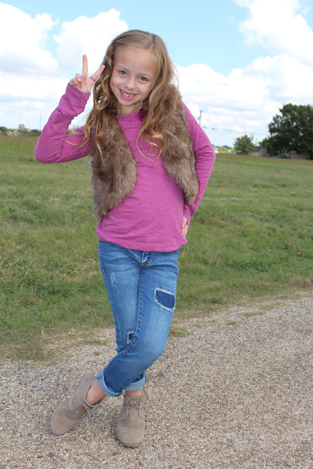 Kids fashion blog featuring great fall fashion tips