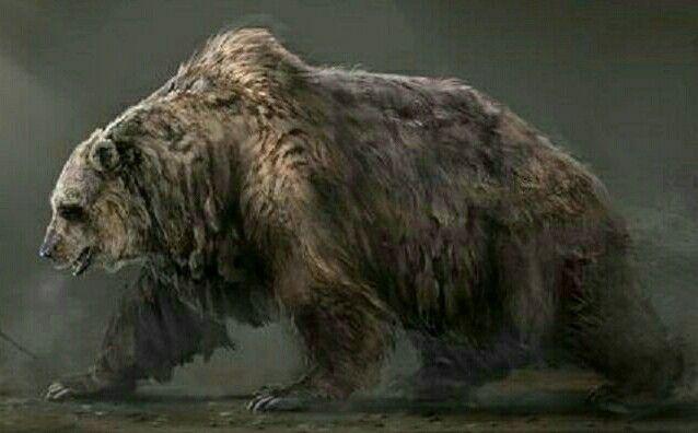 Cave Bear Bear Artwork Bear Art Prehistoric Animals