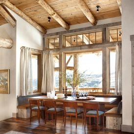 Delightful Rustic Dining Room By Peace Design