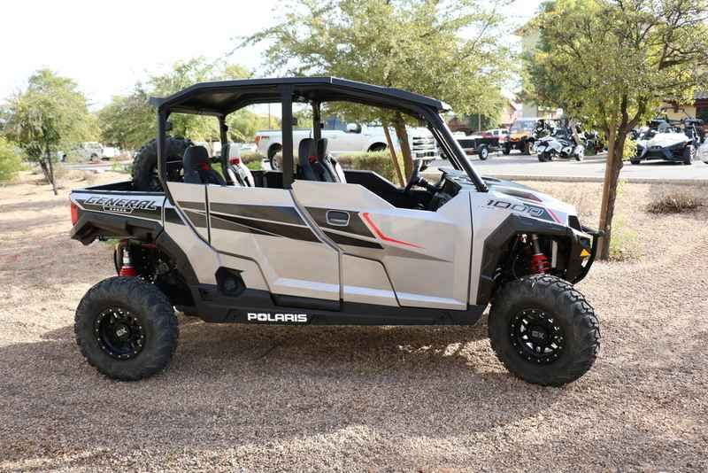 new 2017 polaris general 4 1000 eps silver pearl atvs for sale in arizona 2017 polaris general. Black Bedroom Furniture Sets. Home Design Ideas