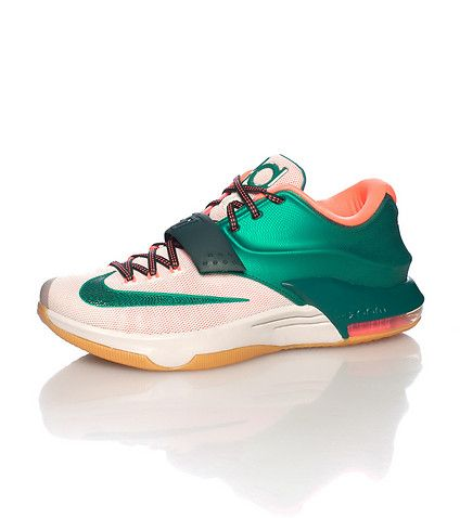 NIKE Kevin Durant Low top sneaker Lace and velcro strap closure Metallic  red NIKE swoosh detail Zoom air bubble heel