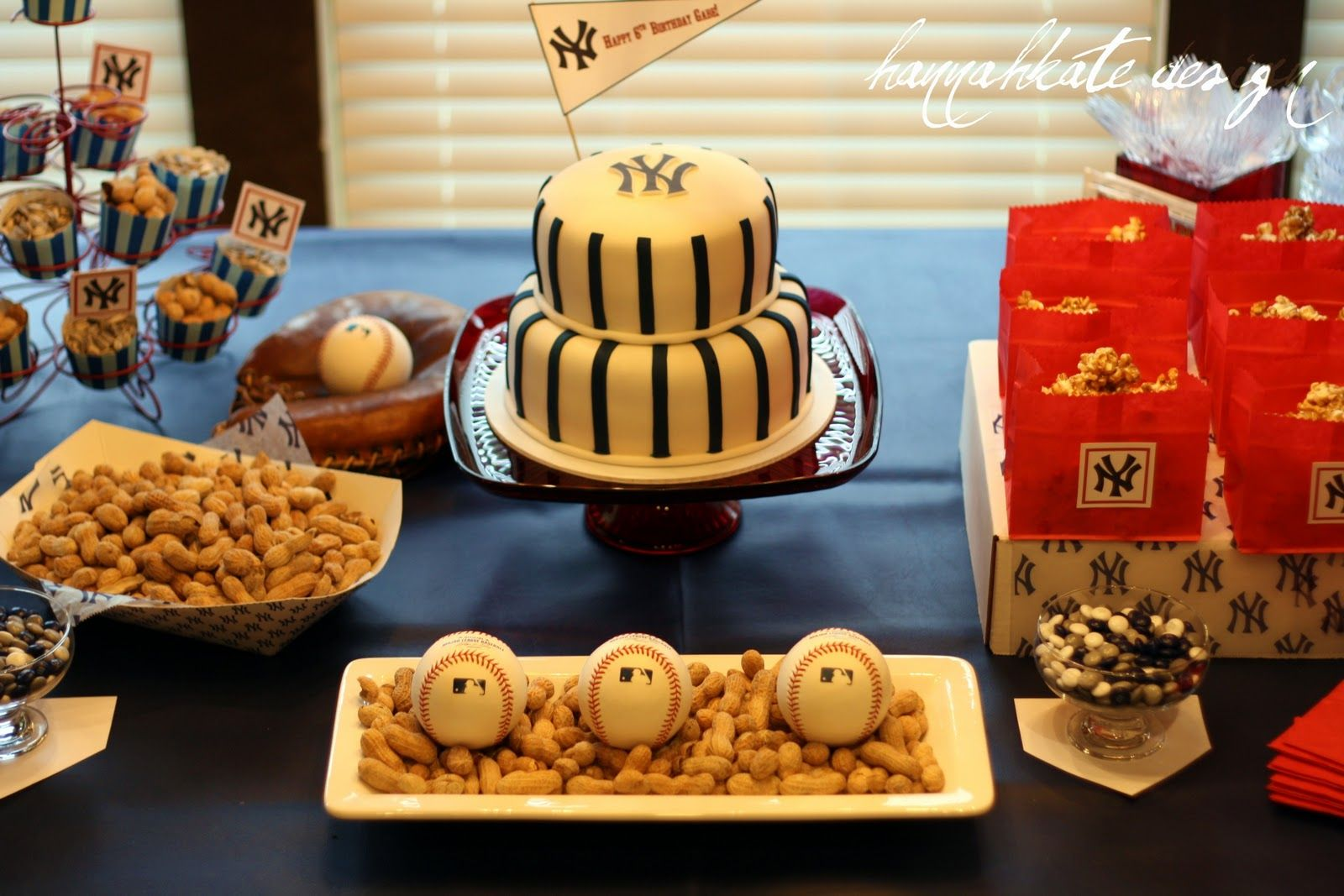 The Gaines Gang: A Yankee Baseball Birthday Party