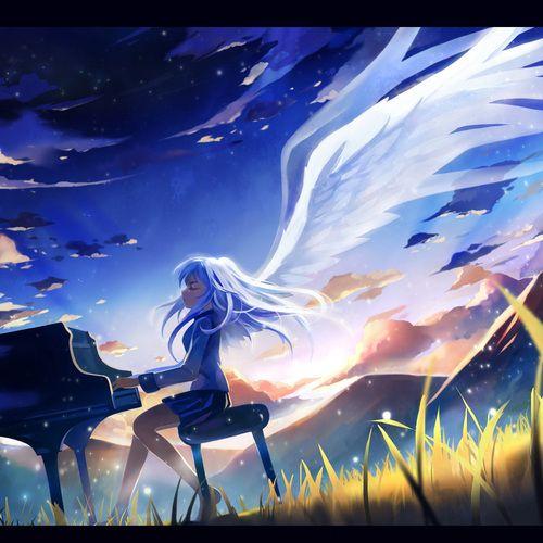 Anime Garota Fundo Angel Beats Anime Angel Beats Anime Wallpaper