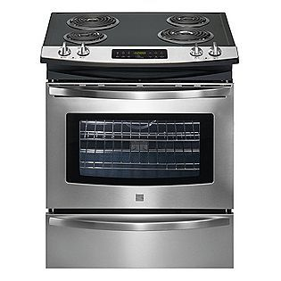 Kenmore 30 Quot Self Clean Slide In Electric Range With Deluxe