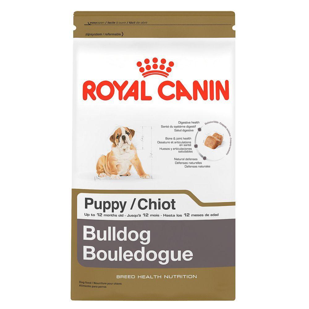 Royal Canin Breed Health Nutrition Bulldog Puppy Food Size 30 Lb