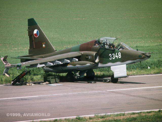 Su-25   Sukhoi Su-25 Frogfoot - Su-25UBK (Czech Air Force)   Photo 21/22