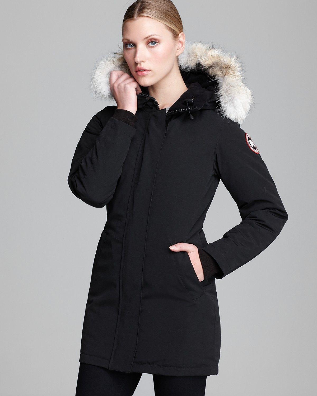 canada goose victoria femme noir
