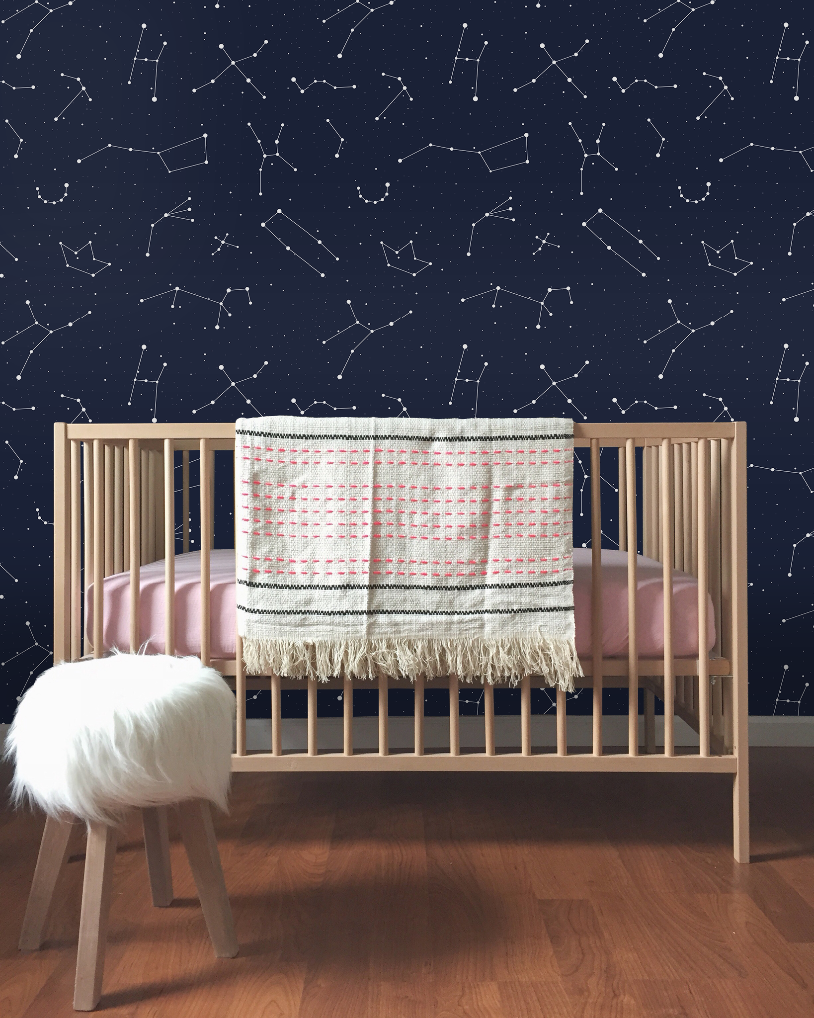 Constellation Wall Mural Removable Wallpapers L And Stick Murals Temporary Covers Easy Paper Coloraydecor