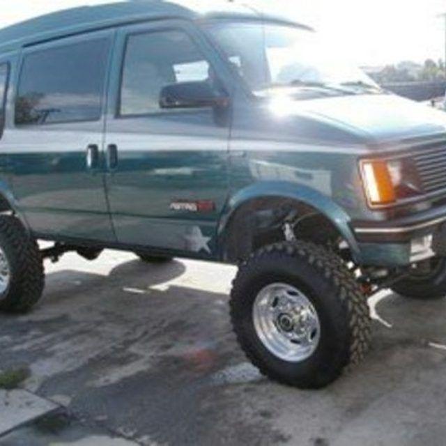 How To Raise A Car S Suspension Astro Van Vans Chevy Van