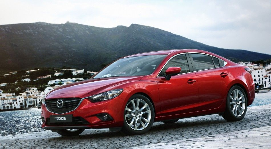 All new Mazda 6. Just nice. Mazda cars