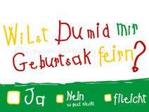 Einladung 50.Geburtstag   Auf Mega Dickem Karton. Einladung 70.