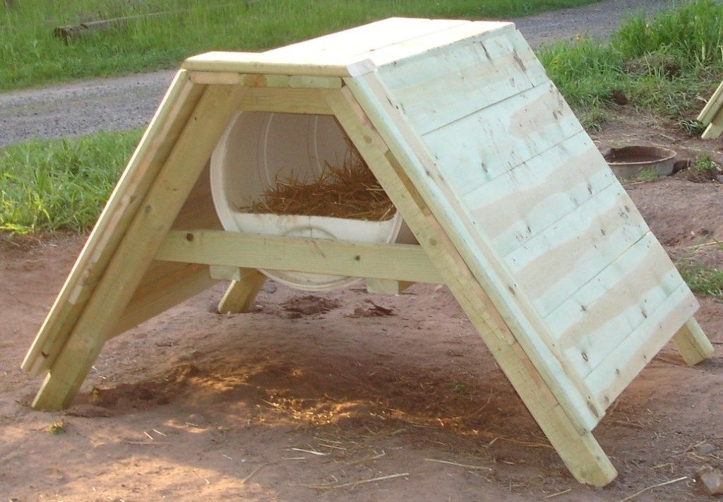 How To Build A Sled Dog House Dog House Diy Barrel Dog House