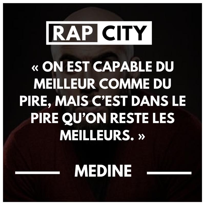 Les 15 Meilleures Punchlines De Médine Citations De Rap