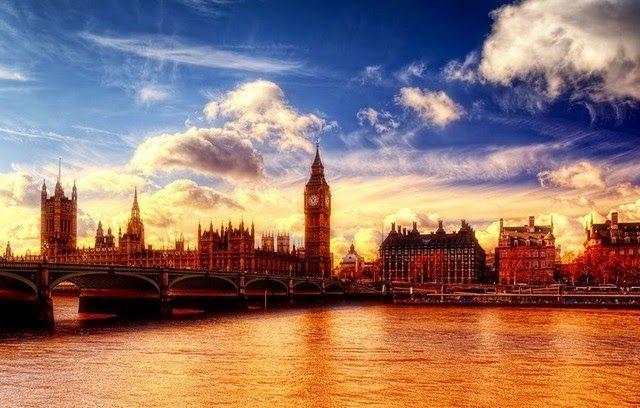 Big Ben, London, Thames River, England (45 photos)
