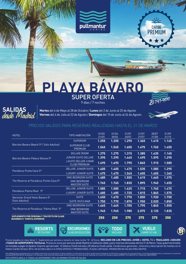 Super Oferta Playa Bávaro Verano 2014. Caribe Premium ultimo minuto - http://zocotours.com/super-oferta-playa-bavaro-verano-2014-caribe-premium-ultimo-minuto/