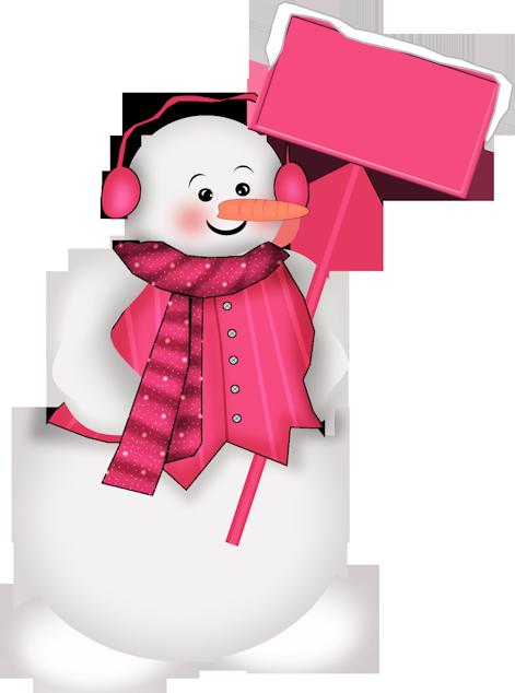 Snowman purple. Christmas love