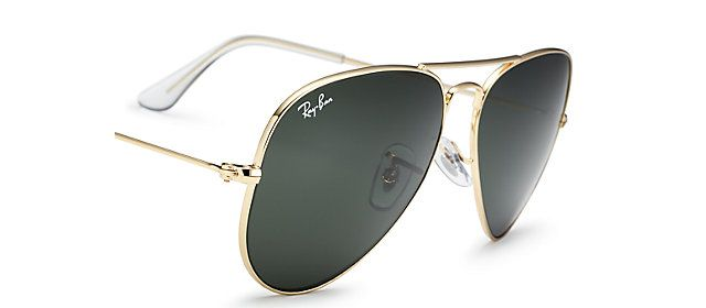 5ca92dbd50 Ray-Ban RB3025 L0205 58-14 AVIATOR CLASSIC Gold sunglasses
