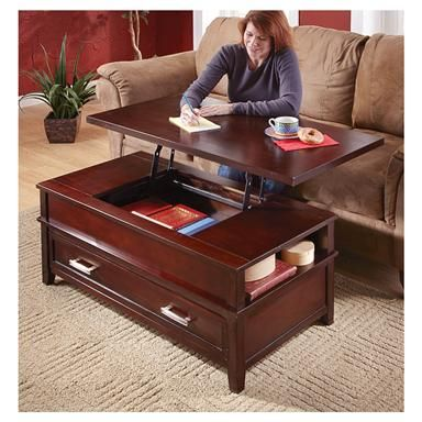 Lift Top Coffee Table Coffee Table Adjustable Height Table Living Room Table