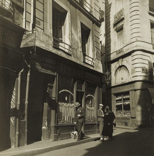 regardintemporel:  Alexandre Trauner - Paris 1937  My blog posts
