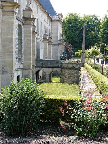 Jardin de la Malmaison. Ile-de-France