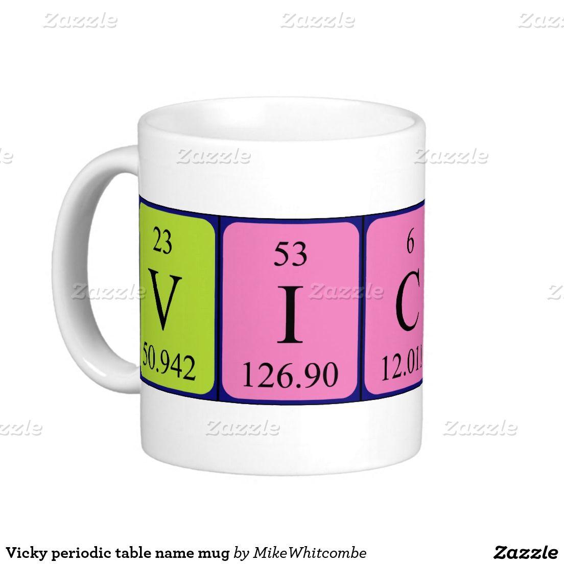 Vicky periodic table name mug periodic table vicky periodic table name mug urtaz Image collections