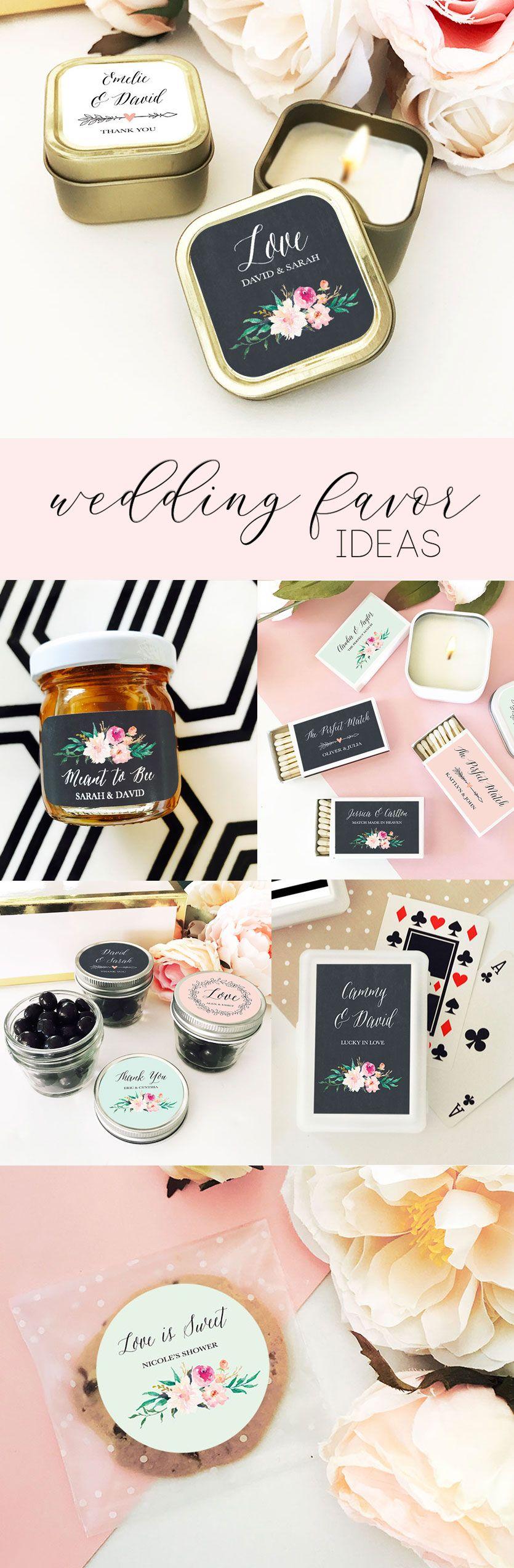 Unique Wedding Favor Ideas | Floral Favors for Weddings | Useful ...