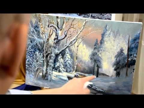 Индивидуальное занятие по живописи маслом. Художник ...
