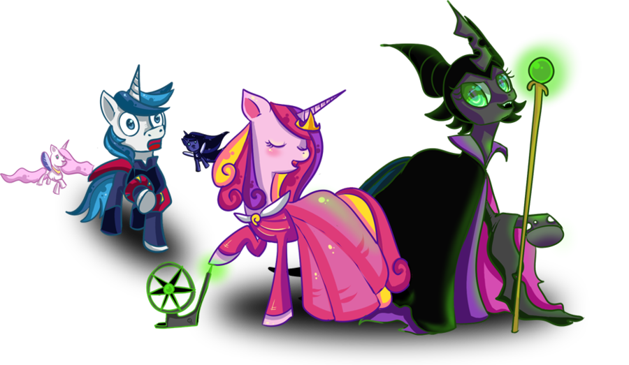 Mlp Queen Chrysalis And Shining Armor
