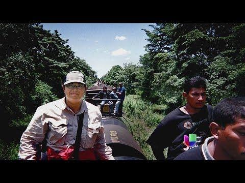 Sonia Nazario hizo la peligrosa travesía de cruzar la frontera y lo cuenta todo en su libro - YouTube
