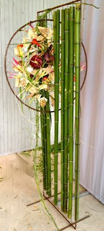 Great idea...Jungle themes or any theme really, because you could paint the bamboo any color that you needed it to be....