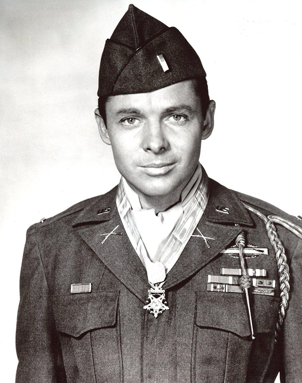 Audie Murphy 8x10 Photo S7452 Famous veterans, American