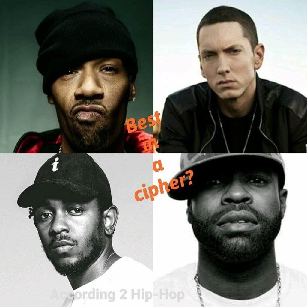Hip Hop Cypher Redman Eminem Kendrick Lamar Black Thought Soul Music Hip Hop Eminem