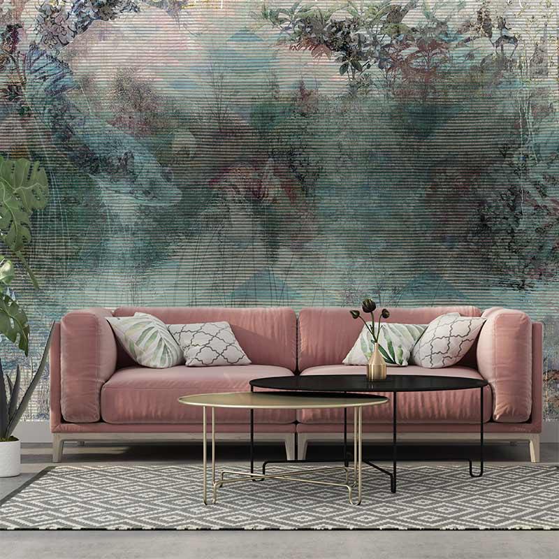 Tapisserie Luxe Salon Papier Peint Haut De Gamme Panoramique Muraem En 2020 Papier Peint Decoration Murale Unique Parement Mural