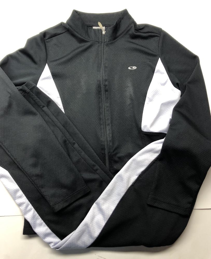 0a27c78d Champion C9 Girls Black Lightweight Zip Jacket Size Large And Pant ...