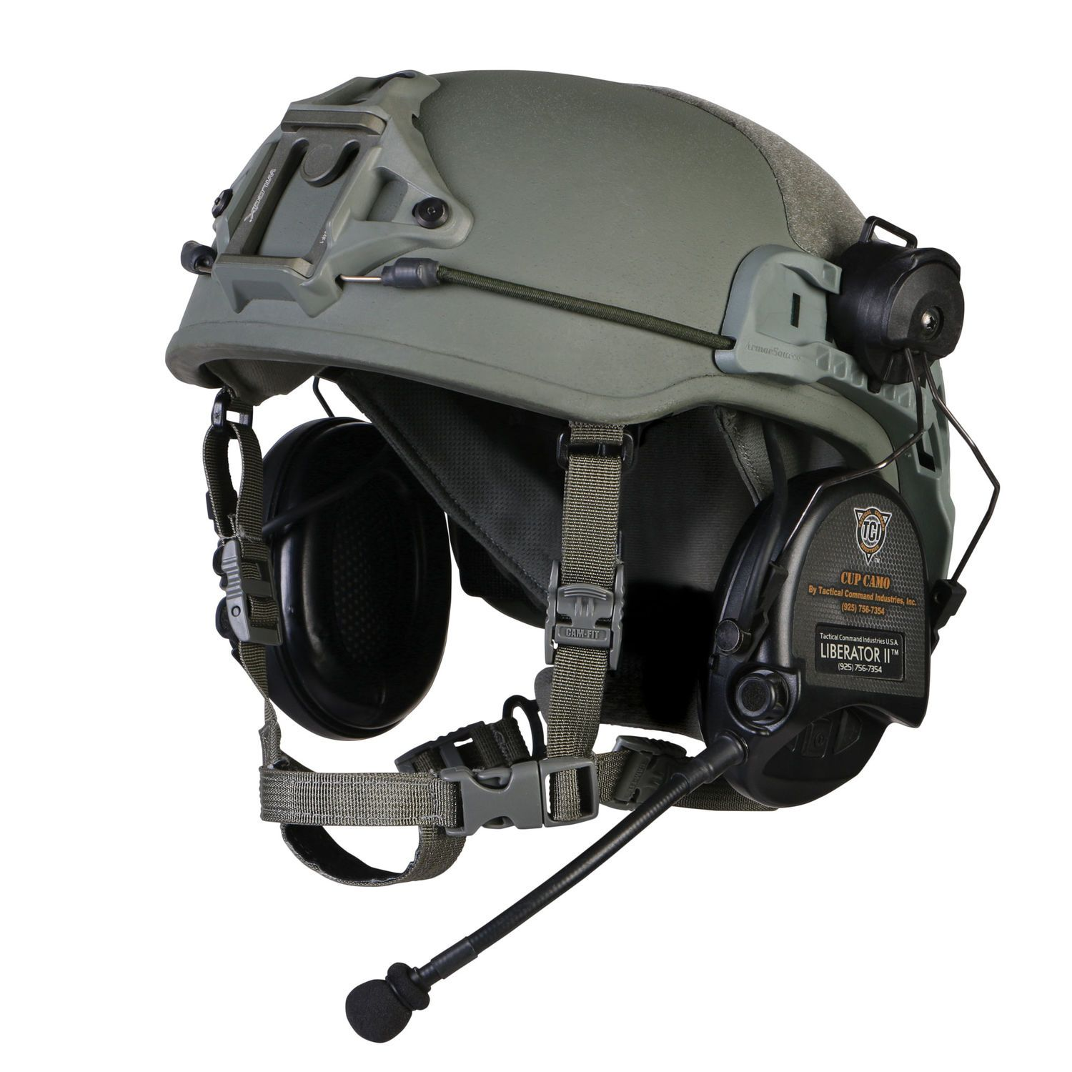 Liberator Ii Tactical Headset With Integrated Digital