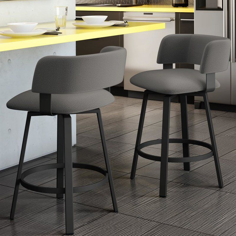 Hillingdon Bar Counter Swivel Stool In 2020 Comfy Bar Stools