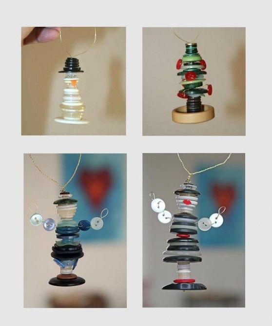 little button ornaments